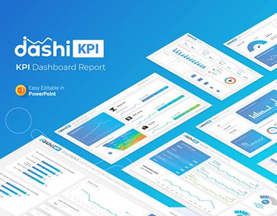 Dashi KPI – Dashboard Report PowerPoint Presentation