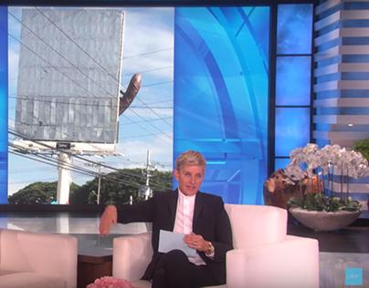 Cerveza Pilsen in The Ellen Show... by accident 😜