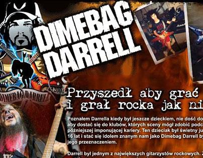 Dimebag Darrell Tribute Website - Dean Guitars