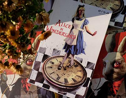 Alice In Wonderland Defter Projesi