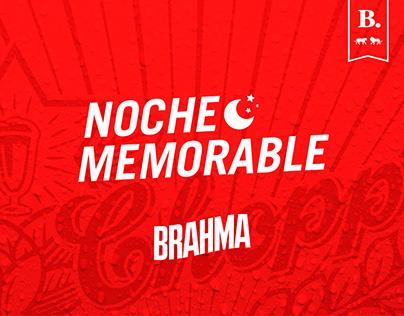 Brahma - Noche Memorable