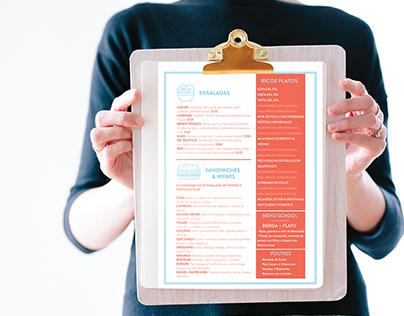 Diseño de Identidad restaurant All That Food