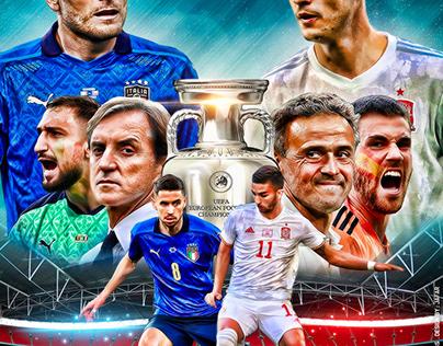 ITALY - SPAIN EURO 2020 SEMI FINALS