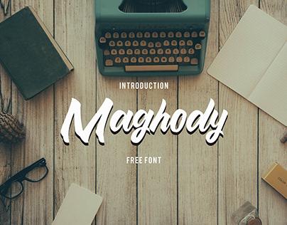 Free Font - Maghody