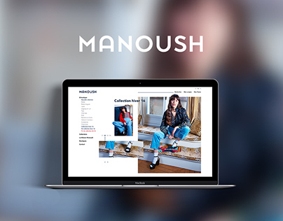 Manoush - Webdesign site ecommerce