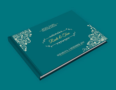 Wedding Guest Book for Mr. Tian