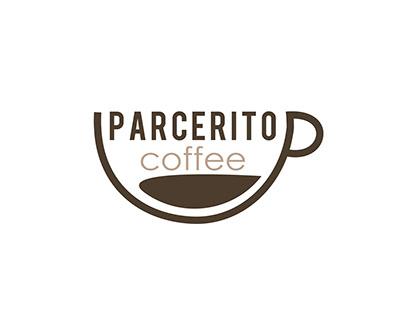Diseño logotipo Parcerito Coffee