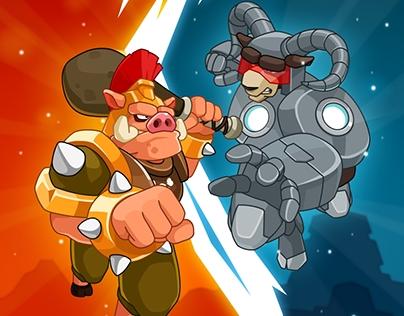 Ram vs Pig