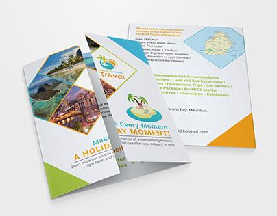 Gate Fold Brochure - Mauritius Tourism Company