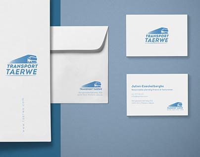 Transport Taerwe - Branding Identity