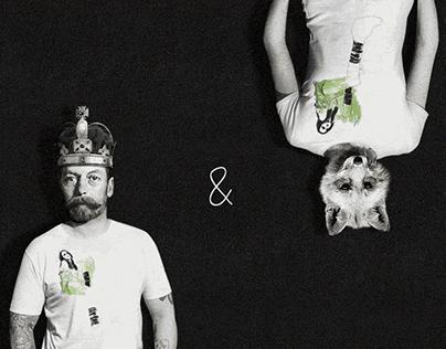 Kings & Foxes - website & logo design