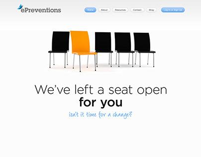 ePreventions Website developments