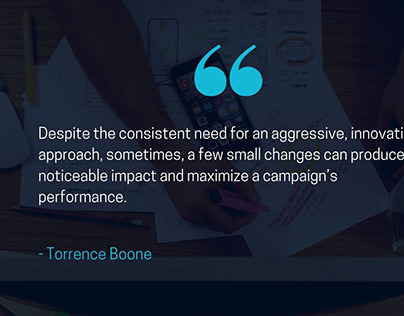 Torrence Boone: Blog Quotes (April 2021)