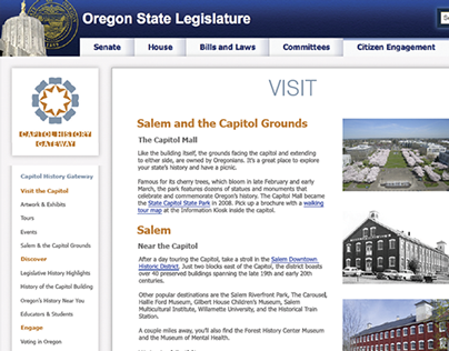 Capitol History Gateway Website