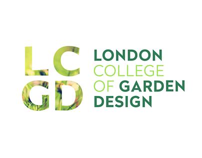 London College of Garden Design Rebrand