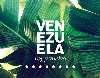 Personal project | Venezuela, voy y vuelvo