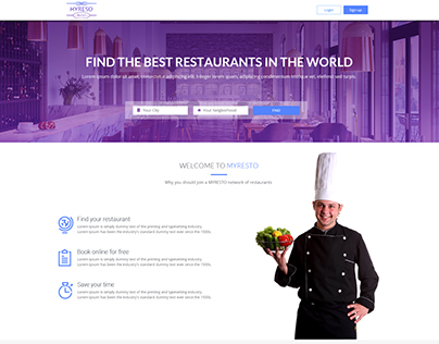 Restaurants project
