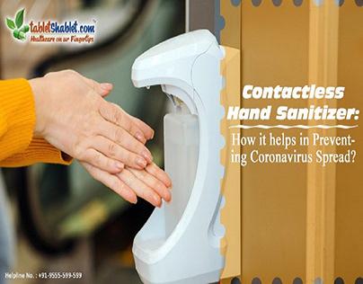 Contactless Hand Sanitizer: Prevent Coronavirus Spread