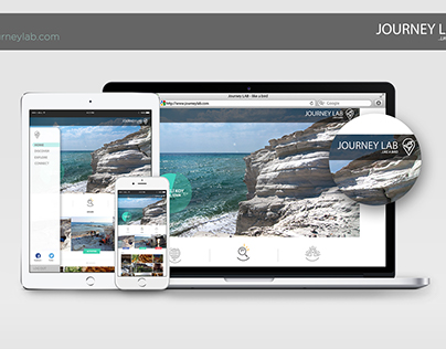 Journey Lab Website & App Design