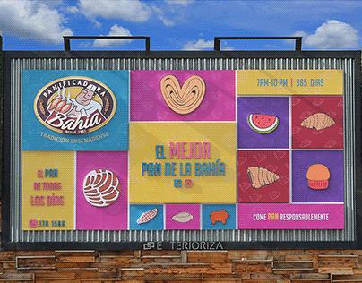 Publicidad exterior - Valla Panificadora Bahía