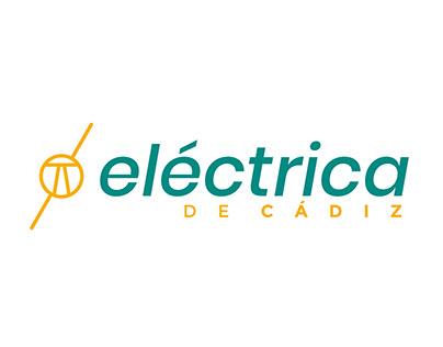 Branding for electricity company: Eléctrica de Cádiz