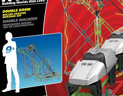 Toy Packaging — K'NEX: Roller Coasters