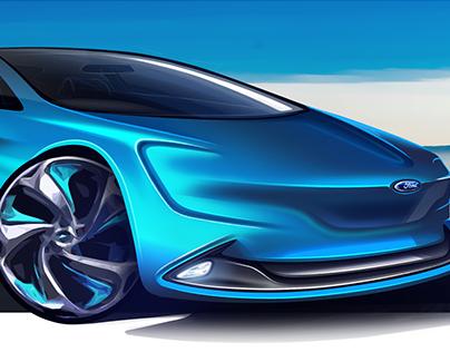 Ford Granada - Visual Communication Design