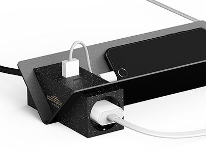 LAY / Desk Multi-tap, Product design