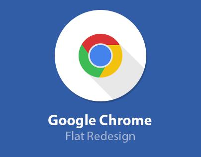 Google Chrome Flat Redesign