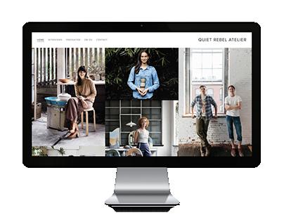 Quiet Rebel Atelier / Business & Concept Design