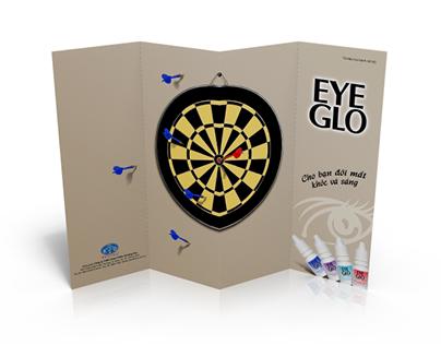 Leaflet design for eyedrop EYEGLO