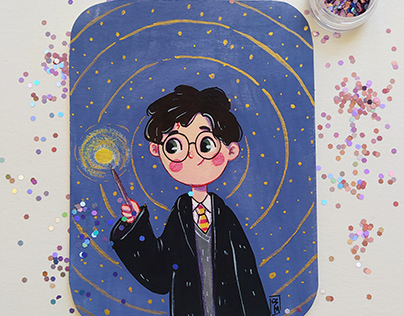 Fanarts inspired by Harry Potter characters