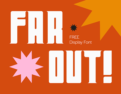 FAR OUT! - FREE FONT