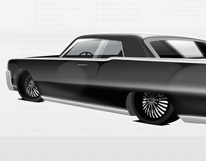 Lincoln Continental Rendering