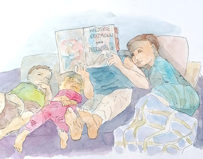watercolour family life instructions