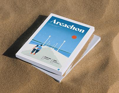Magazine Arcachon — Editorial Design