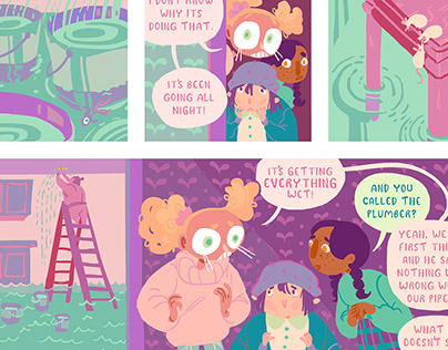 Margo Comic Preview Pages