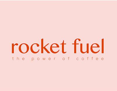 Rocket Fuel Coffee Branding