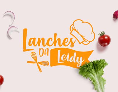 Lanches da Leidy - Logotipo