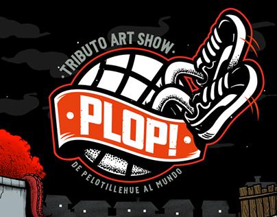 Tributo Artshow PLOP!