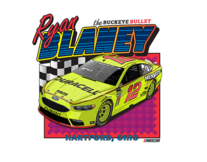NASCAR Retro Inspired Shirts