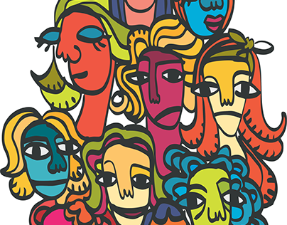 WOMEN / PROYECTO PERSONAL REDBUBBLE 2018