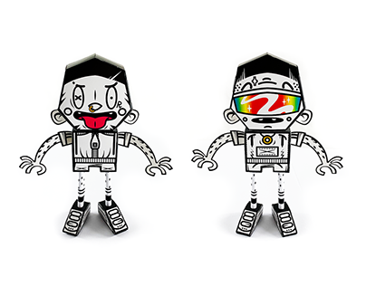 Paper Toy Character Design x Forin Studio
