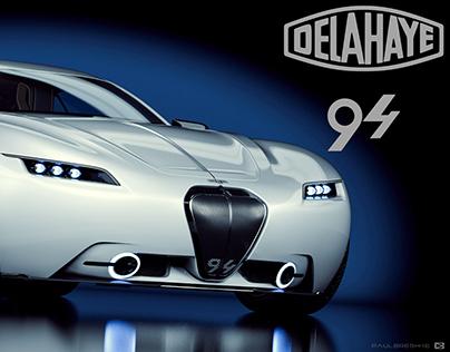 DELAHAYE  94  Concept Car 2015 by Paul Breshke
