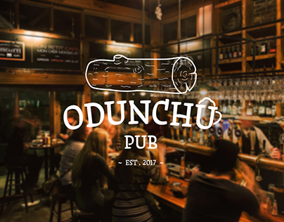 corporate identity for Odunchu Pub
