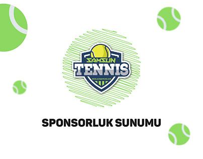 sponsorluk sunumu - samsun tenis