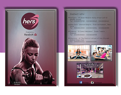 Hers Gym Flyer