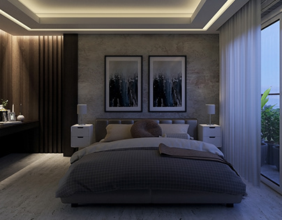 Practice Render - BED ROOM