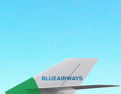 Blue Airways | Brand Identity