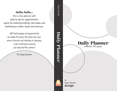 A Daily Planner (Graphic Design)